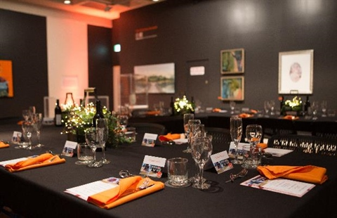 Special event hire at Rockhampton Art Gallery