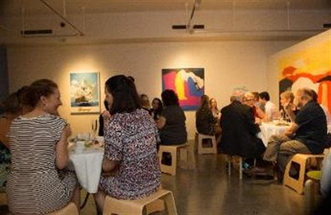 Friends of Rockhampton Art Gallery enjoying an exclusive event