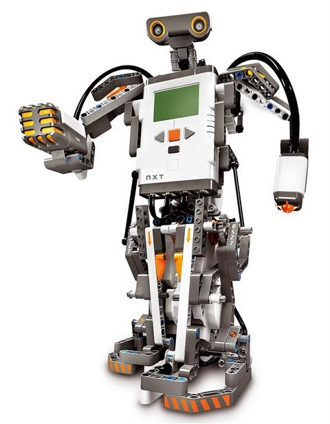 Роботы из лего своими руками видео