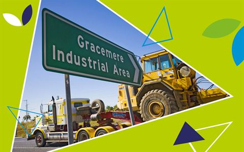 Gracemere Industrial Area