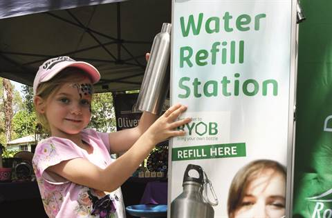 ES Get involved - Water Refill