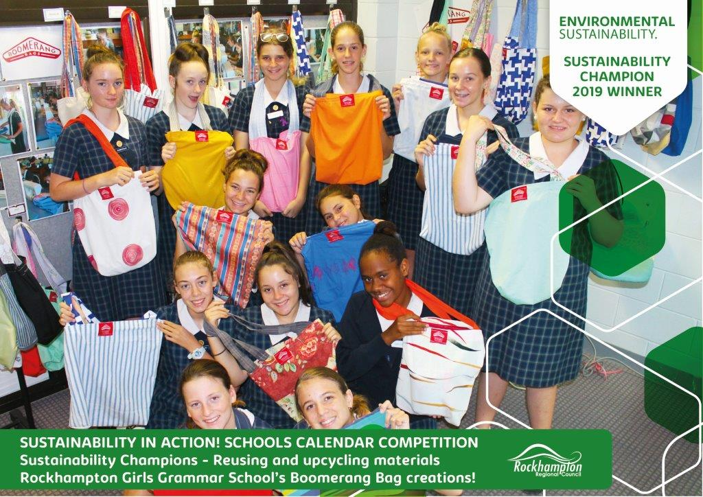 Sustainability in action Certificate Girls Grammar