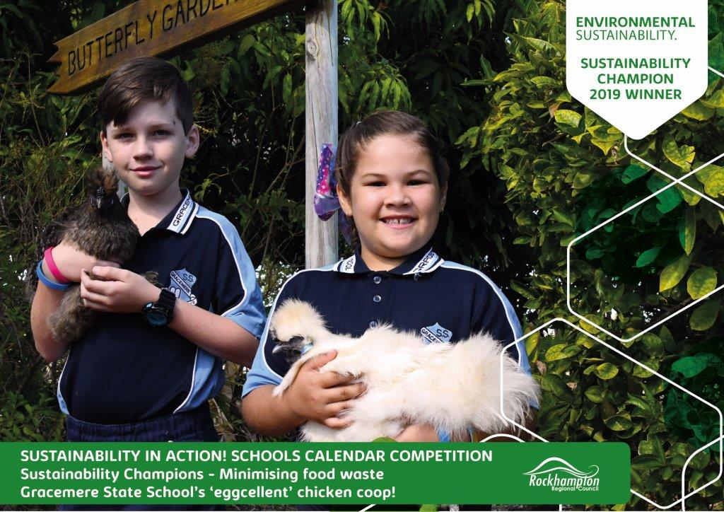 Sustainability in action Certificate Gracemere-State-School