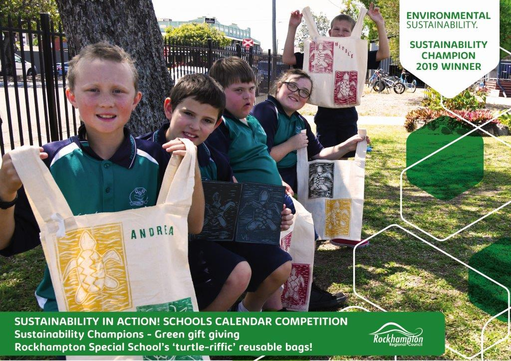 Sustainability in action Certificate Rton-Special-School
