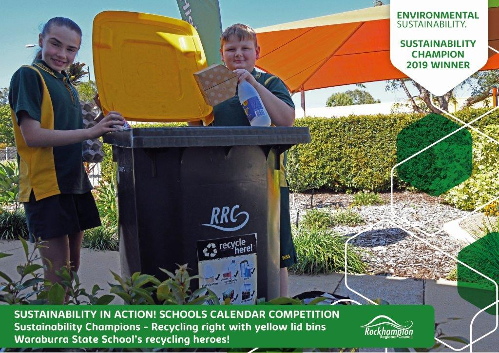 Sustainability in action Certificate Waraburra