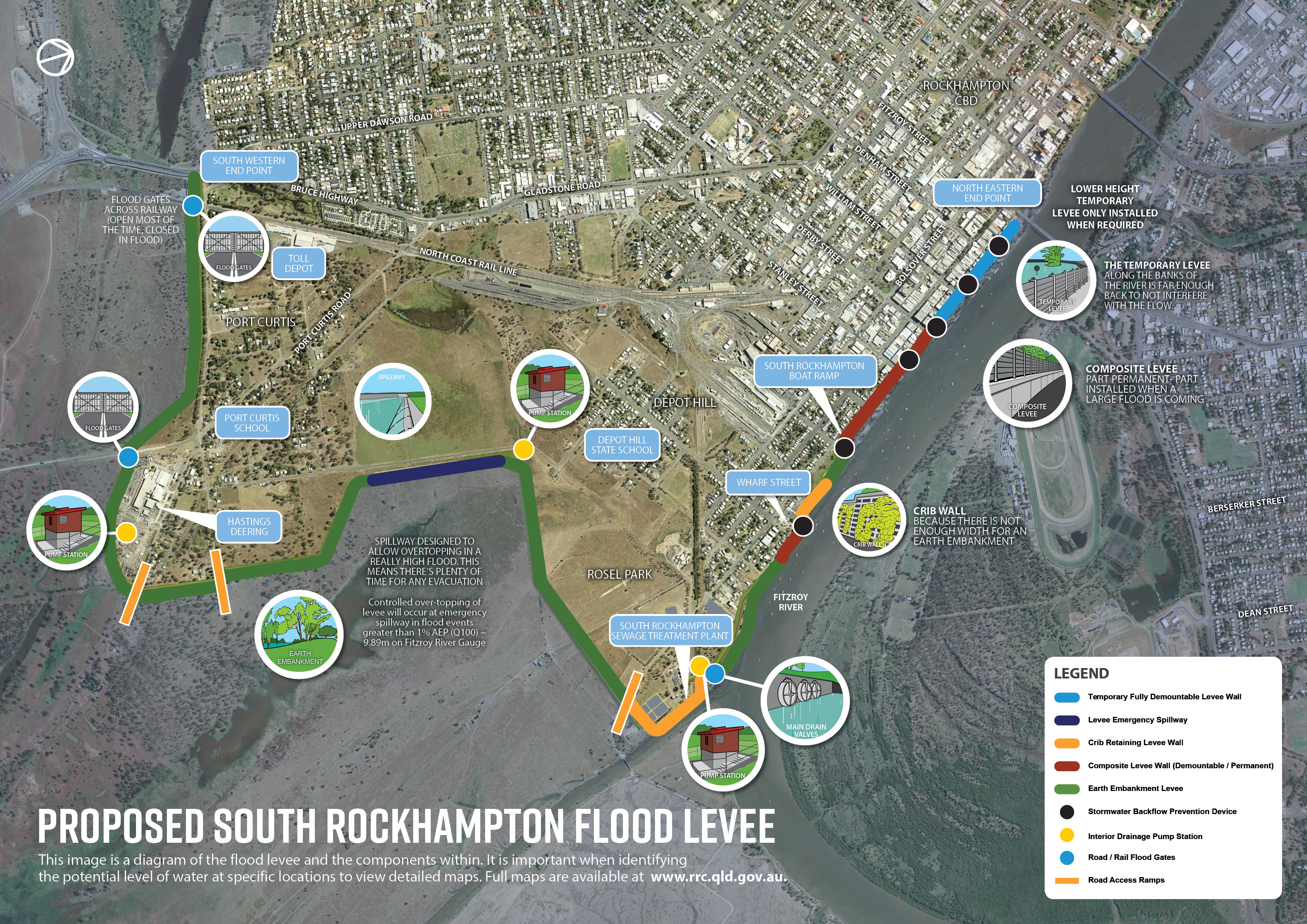 Flood Levee Map