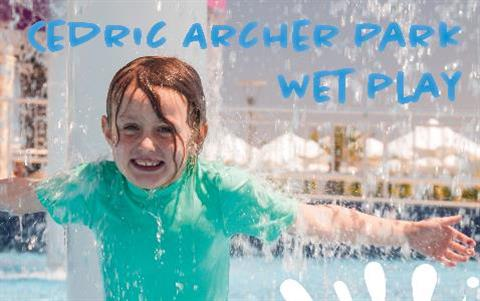 Cedric Archer Park Wet Play Opening