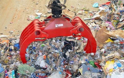 Waste claw