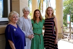 Member for Capricornia Michelle Landry, Mayor Margaret Strelow, TTL1 participant Jade Howard-Smith, Smarthub Business Manager Elize Hattin.jpg