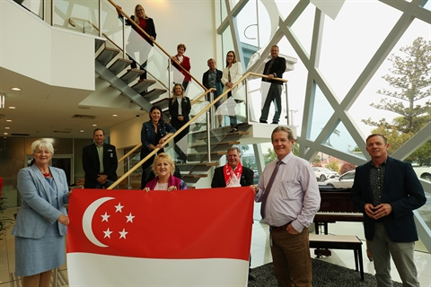 Rockhampton and Livingstone Councillors celebrate National Day of Singapore